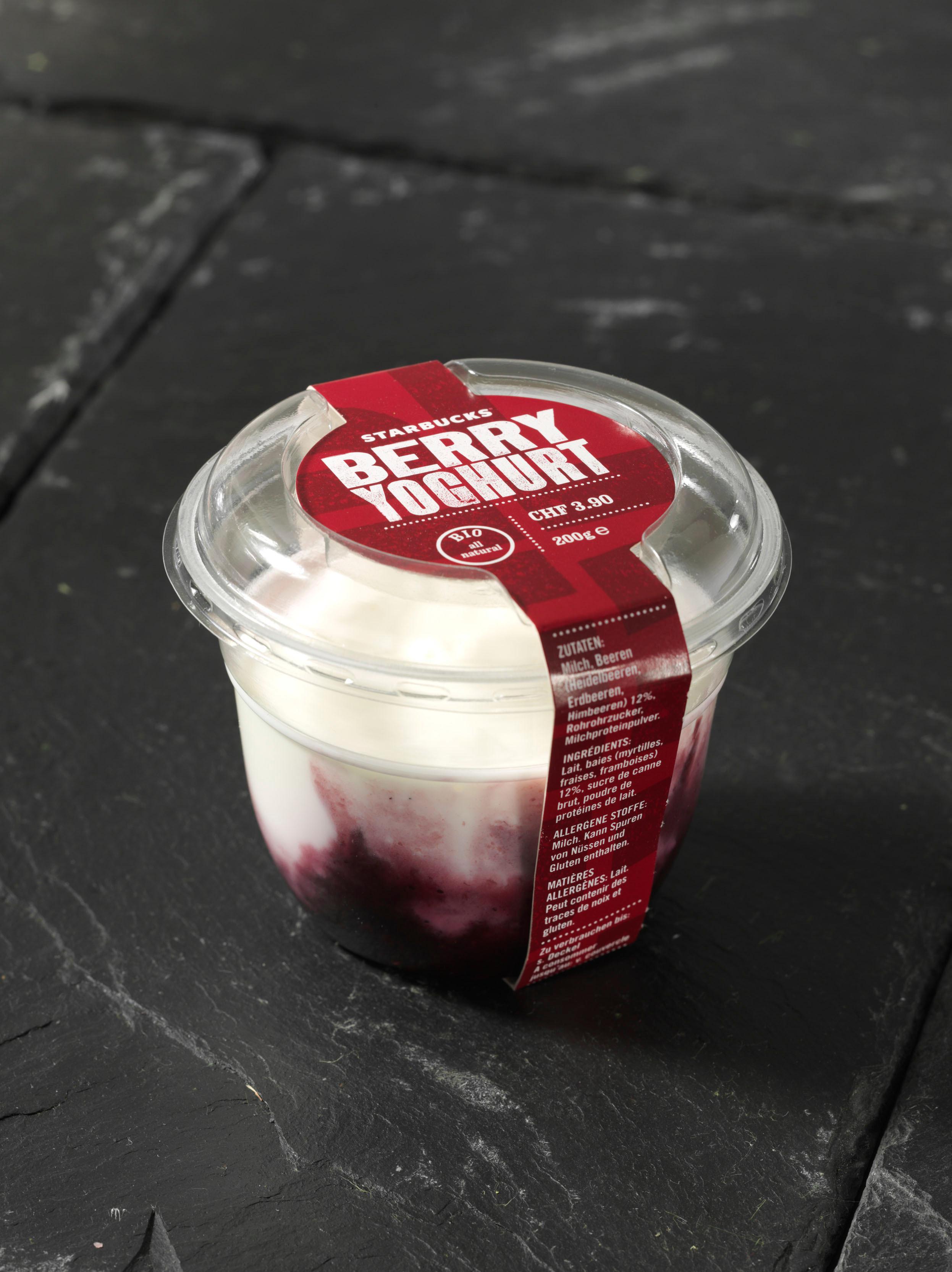<h5>Joghurt mit Beeren</h5>