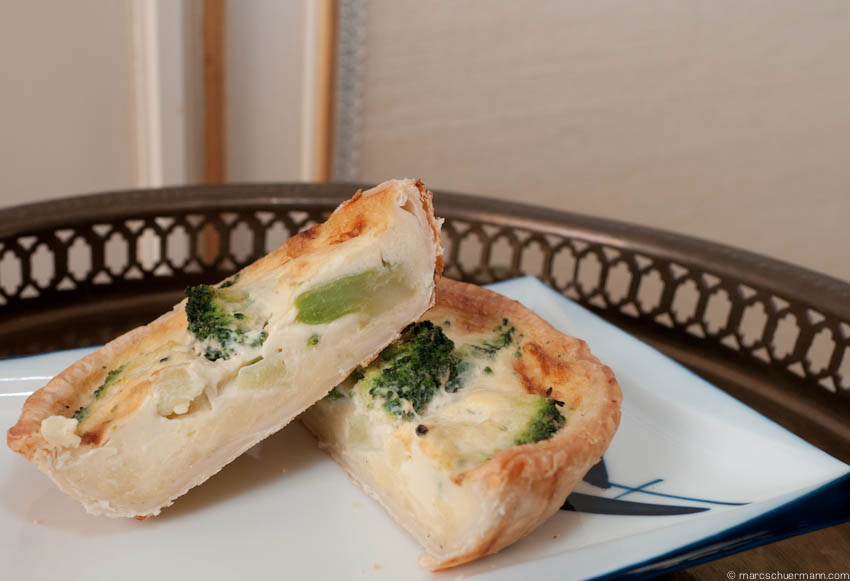 <h5>Quiche Broccholi</h5>