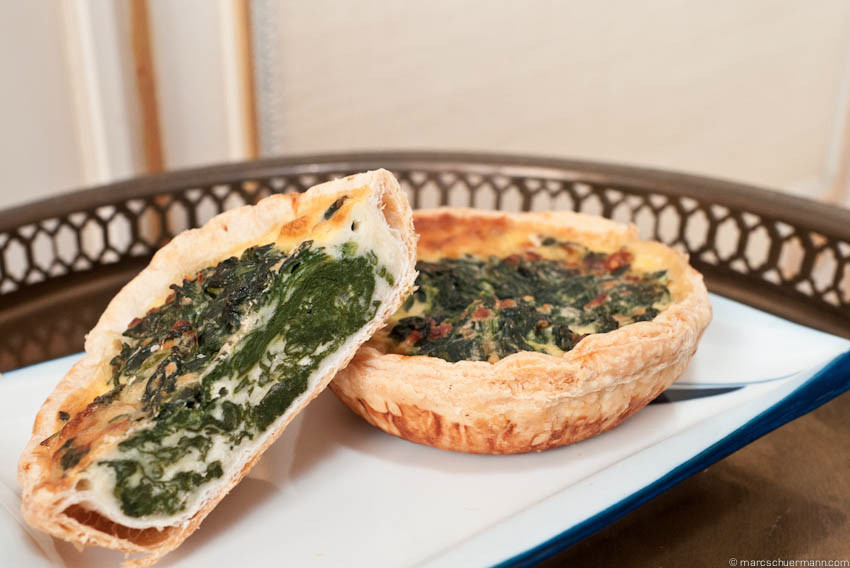 <h5>Quiche Spinat</h5>