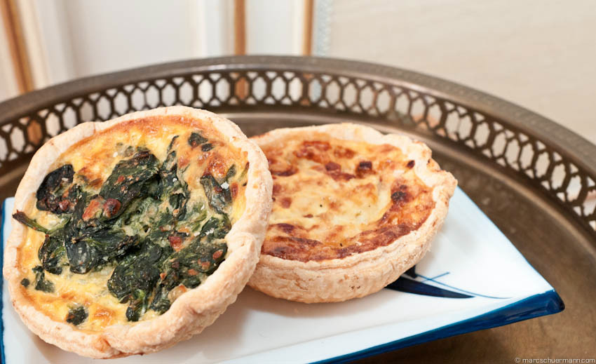 <h5>Quiche Loraine Spinat</h5>