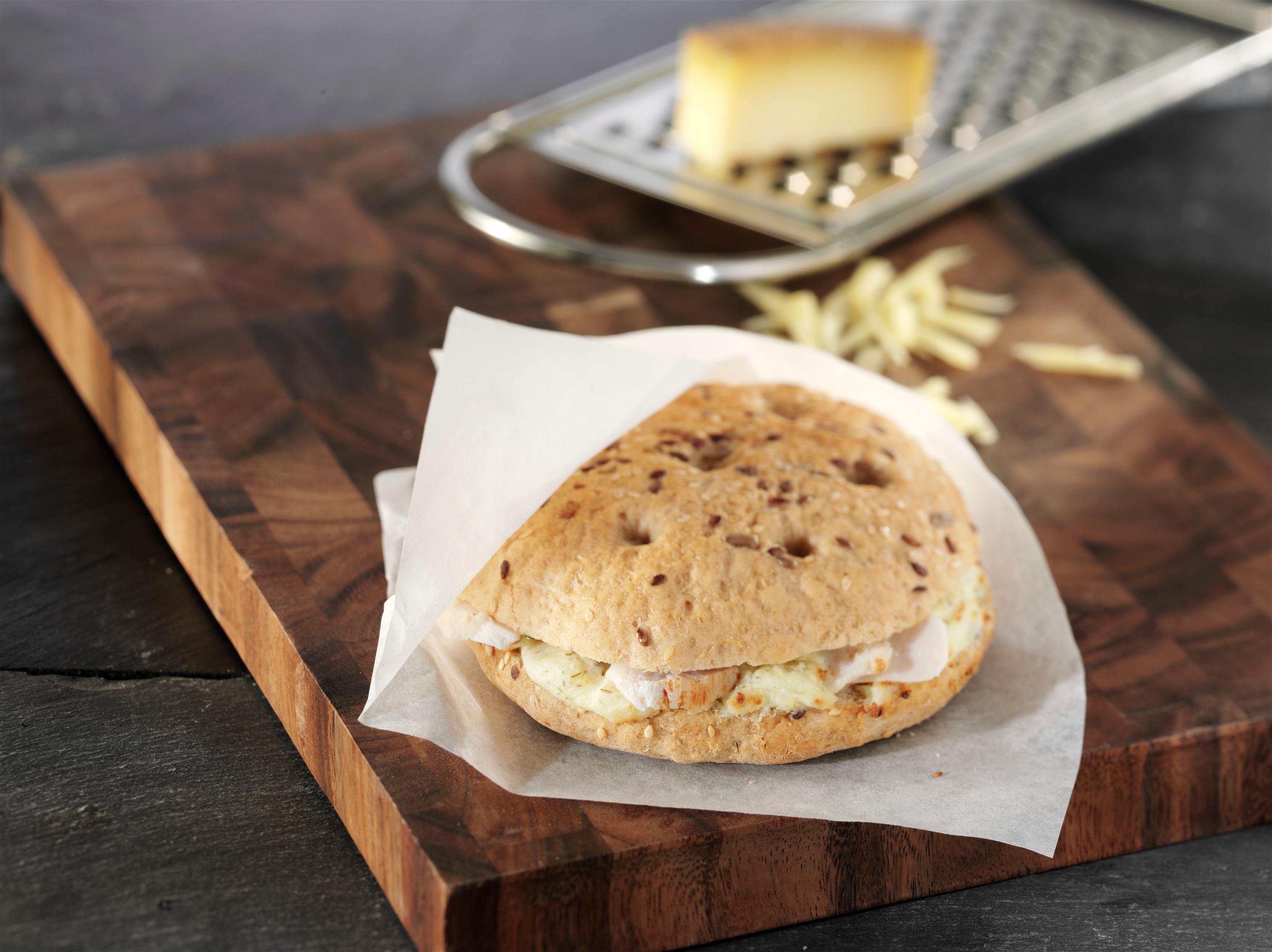 <h5>Pita-Sandwich mit Hühnchen</h5>