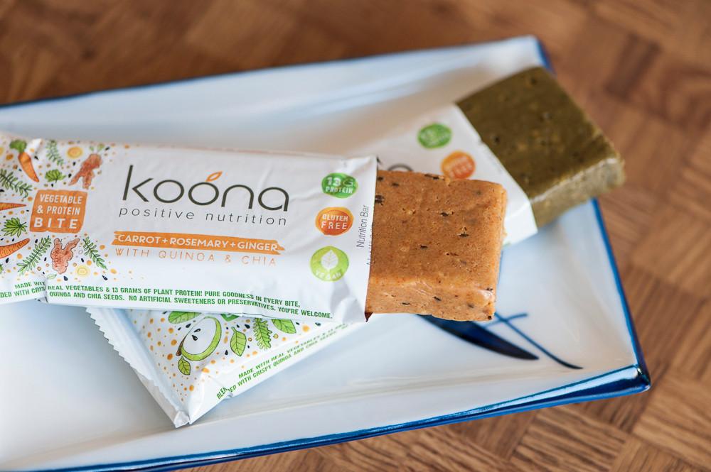 <h5>Koona – Veganer Proteinriegel in 2 Geschmacksrichtungen</h5>