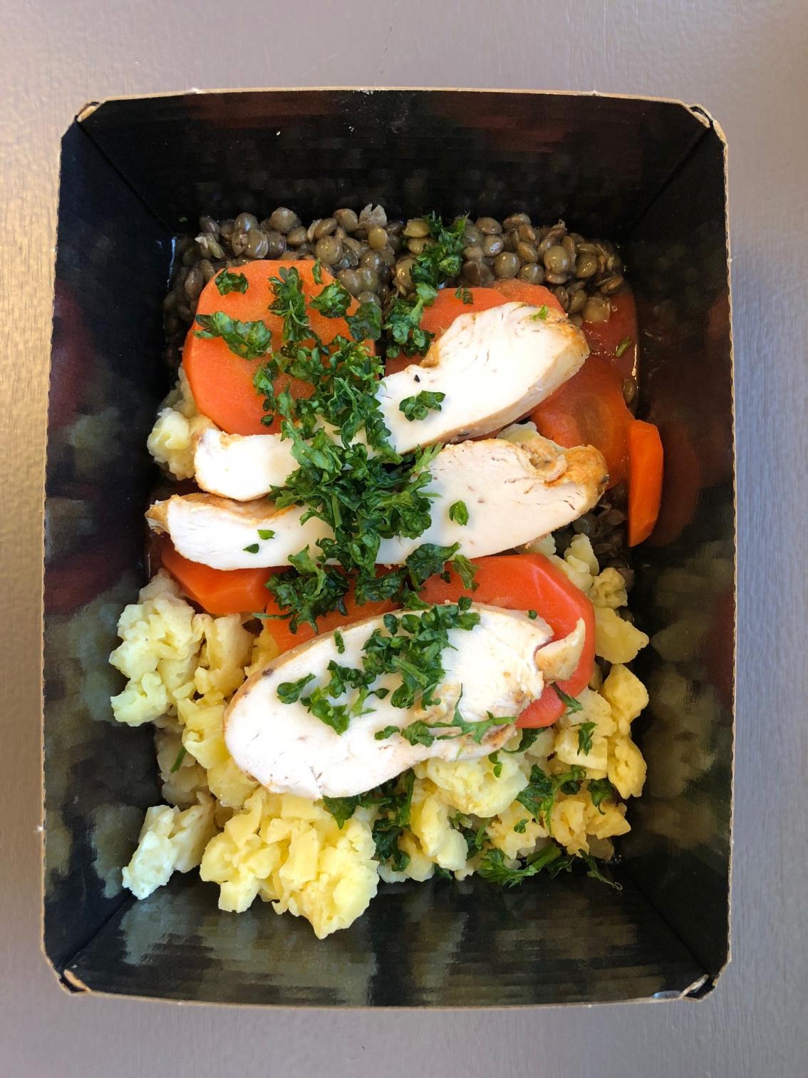 <h5>Lunch Box neu auch mit Chicken</h5>